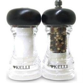 Набор мельница для перца и солонка Kelli (KL-11112)