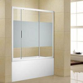 Шторка на ванну Aquanet Practic AE10-B-150H150U-CP 150x150 см, шелкография/хром (243611)