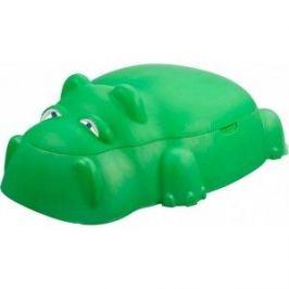 Песочница Starplast бегемот зелёный (18-518)