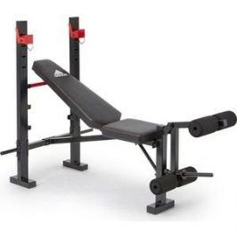 Скамья тренировочная Adidas ADBE-10354 Red Sports