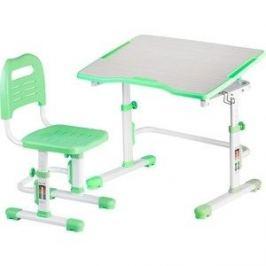 Комплект парта + стул трансформеры FunDesk Vivo II green