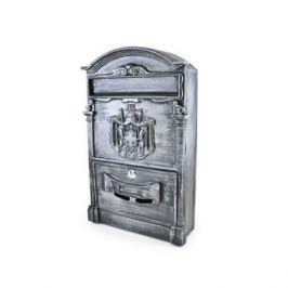 ящик почтовый, 405х255х75 мм, цвет: старое серебро