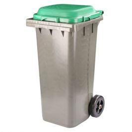 контейнер универсальный, 120 л, на колёсах, зелёный