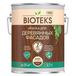 краска д/деревянных фасадов ТЕКС Bioteks А 2,7 л, арт.700006078