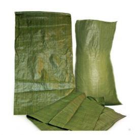мешок для строительного мусора, 95х55 см, зеленый