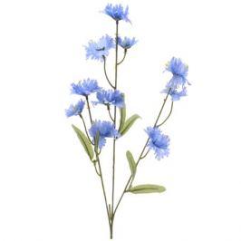 растение искусственное Василёк голубой 55см