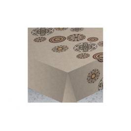 скатерть ALBA 140х180 см Вагнер бежевая хлопок 80%, полиэстер 20%, арт.5211