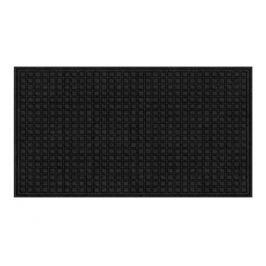 коврик для порога Textures Blocks Onyx, 45х76 см, резина, полипропилен, в ассортименте