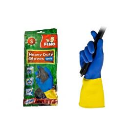 перчатки FINO суперпрочные р-р S латекс