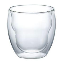 набор бокалов WALMER Prince двойная стенка 2шт. 250мл напитки безалк. термостекло