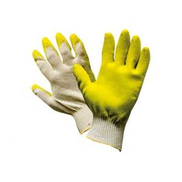 перчатки х/б с одинарным латексным покрытием 13 класс 1 пара