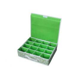 коробка NWH-2 16 ячеек 400х320х100мм зеленая спанбонд/картон