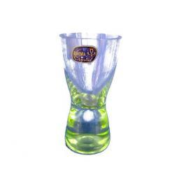 набор рюмок CRYSTALEX Самба цветное дно 6шт. 70мл стекло