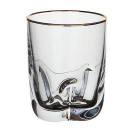 набор стопок CRYSTALEX Барлайн Трио отводка золото 6шт. 60мл стекло