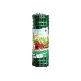 решетка садовая 24х24мм 0,5х10м пластик зелёный