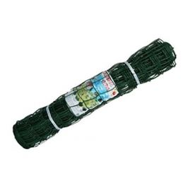 решетка садовая 90х90мм 1х5м пластик тёмно-зелёный