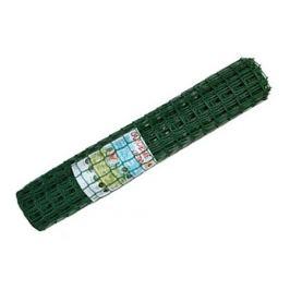решетка садовая 60х60мм 1х10м пластик тёмно-зелёный