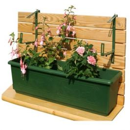 кронштейн для ящика, зеленый, тип B, 2 шт, металл