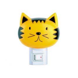 светильник ночник светодиодный ЭРА КОШКИ с выключателем 7Вт E14