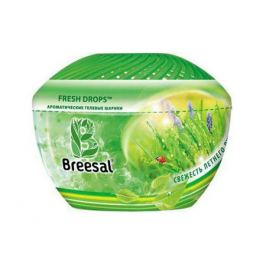освежитель воздуха BREESAL Aroma Drops Свежесть летнего луга гелевые шарики