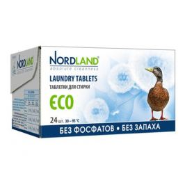 таблетки д/стирки NORDLAND Eco 24х33,75г