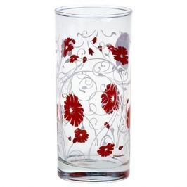 стакан PASABAHCE Serenade Red 290мл выс. стекло