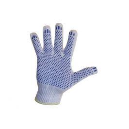 перчатки хозяйственные с ПВХ 5 нити, 1 пара