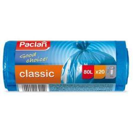 пакеты для мусора PACLAN Classic 80 л, 70х90 см, 20 шт, синие