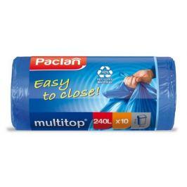 пакеты для мусора PACLAN Multi-Top 240 л, 145x90 см, 10 шт