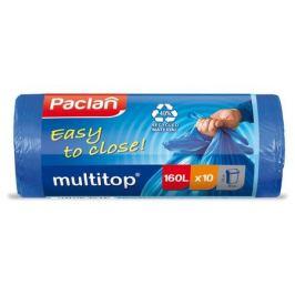 пакеты для мусора PACLAN Multi-Top 160 л, 125x90 см, 10 шт