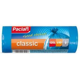 пакеты для мусора PACLAN Classic 120 л, 110х70 см, 10 шт, синие