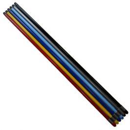ручка металлическая, 120 см, цвет в асс-те