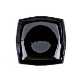 тарелка глубокая LUMINARC Квадрато, 19см, стекло, цвет: черный