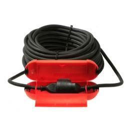 короб защитный для соединения кабеля/удлинителя полипропилен