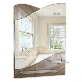 зеркало для ванной Версаль 49,5х69 см 2 полки