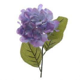 растение искусственное Гортензия, 66 см, сиреневый