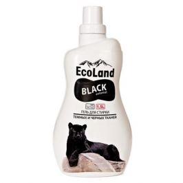 гель для стирки ECOLAND для темных и черных тканей, 1,5 л