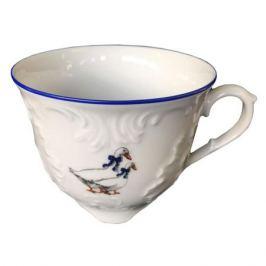 чашка чайная Рококо Гуси, 250 мл, фарфор