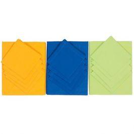 комплект столовый ТАС PLATINUM TABLE COVER скатерть 180х180см и салфетки 35х35см 6шт в ассорт.