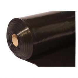 пленка п/э черная 100мкм 1,5м рукав 10м 1с