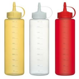 бутылка для соуса COSMOPLAST, 500 мл, пластик