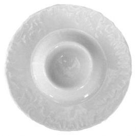 подставка д/яйца Рококо белый фарфор