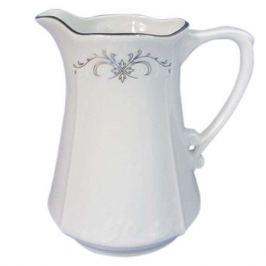 молочник Камелия Серый орнамент 200мл фарфор