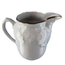 молочник Рококо Золотая отводка 150мл фарфор