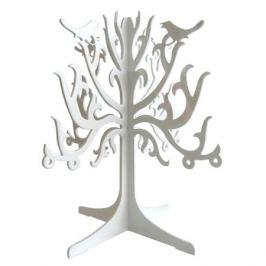 подставка д/украшений металл 14,6х14,6х16,0 см белый