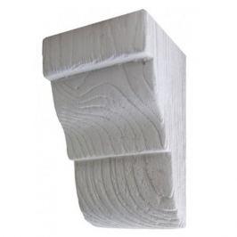 консоль для бруса 9см белое дерево