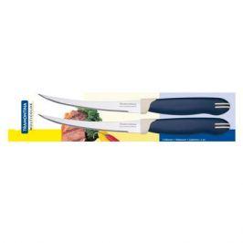 нож TRAMONTINA Multicolor 2шт. 12,5см д/томатов/цитрусовых нерж.сталь/пластик