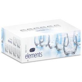 набор стаканов Клаб Elements 6шт. 300мл вода стекло