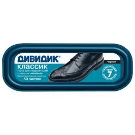 губка для обуви ДИВИДИК Классик, черная, для гладкой кожи