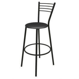 стул барный для кухни ДЖОКЕР 490х490х1130 мм, черный, металлический